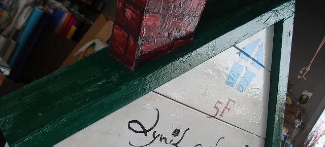 宮崎市 看板 カフェのスタンドサイン