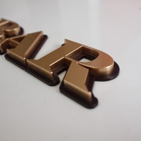 アクリルレーザーカット文字