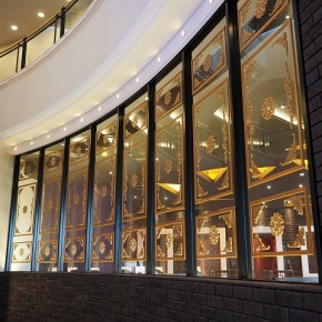 中華料理店 ウインドー装飾
