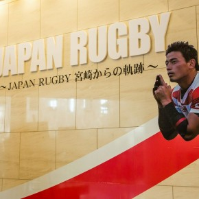 ラグビー日本代表パネル展
