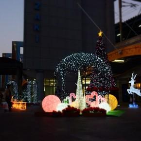 宮崎駅前クリスマスイルミネーション